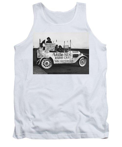 Velie Six Radio Car Tank Top