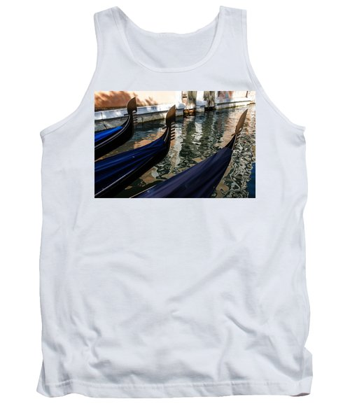 Venetian Gondolas Tank Top