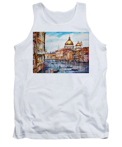 Venetian Paradise Tank Top
