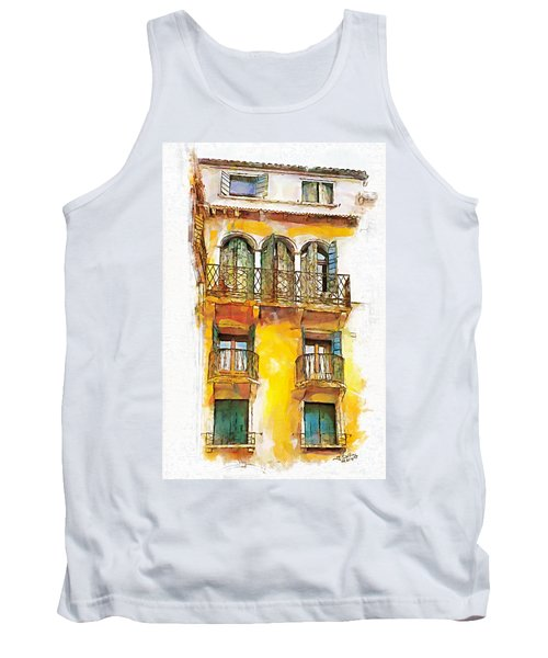 Radiant Abode Tank Top by Greg Collins