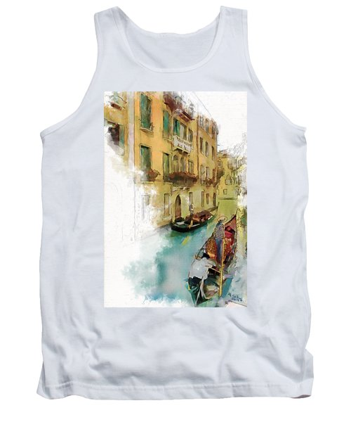 Venice 1 Tank Top by Greg Collins
