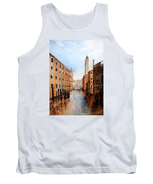Tank Top featuring the painting Venice Italy by Jean Walker
