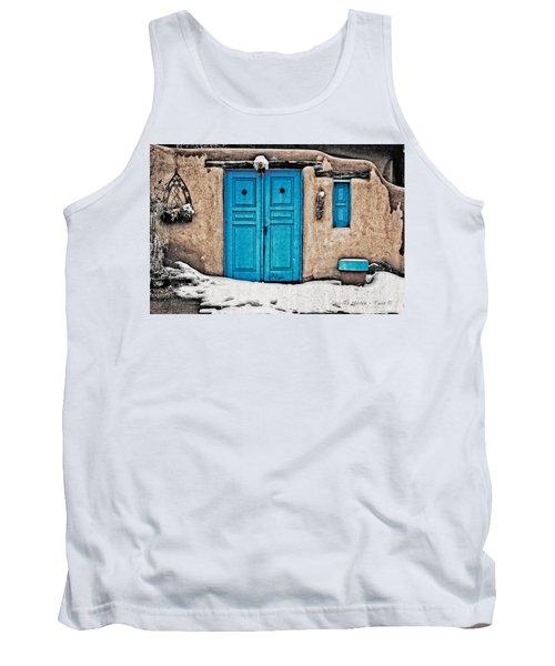 Very Blue Door Tank Top