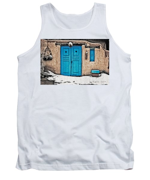Very Blue Door Tank Top
