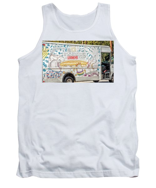 Vic And Nat'ly And The Leidenheimer Po-boy Truck - New Orleans Tank Top