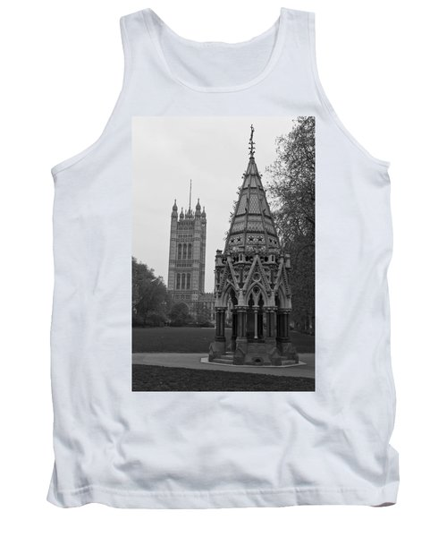 Tank Top featuring the photograph Victoria Tower Garden by Maj Seda