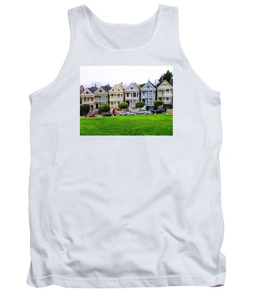 San Francisco Architecture Tank Top