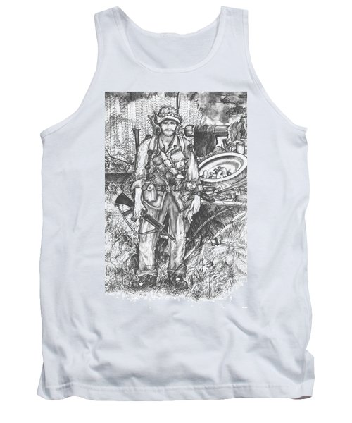 Vietnam Soldier Tank Top by Scott and Dixie Wiley