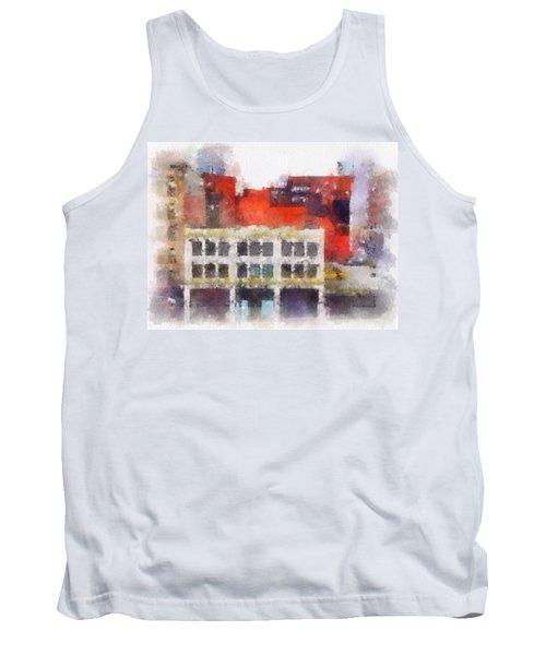 View From A New York Window Tank Top