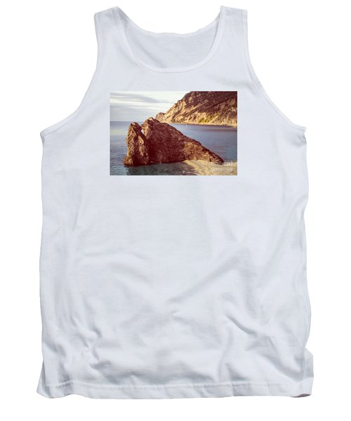 View From Beach Of Monterosso Tank Top
