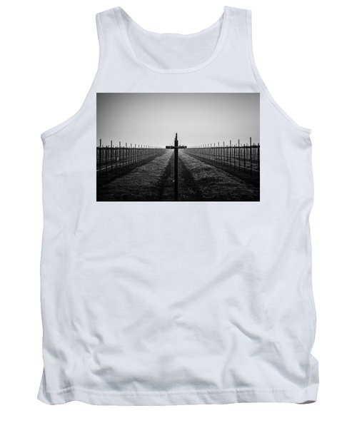 Vineyard Cross Tank Top