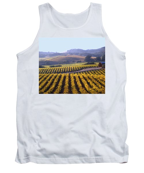 6b6386-vineyard In Autumn Tank Top