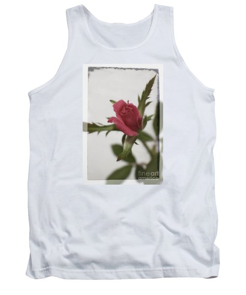 Tank Top featuring the photograph Vintage Antique Rose by Ella Kaye Dickey