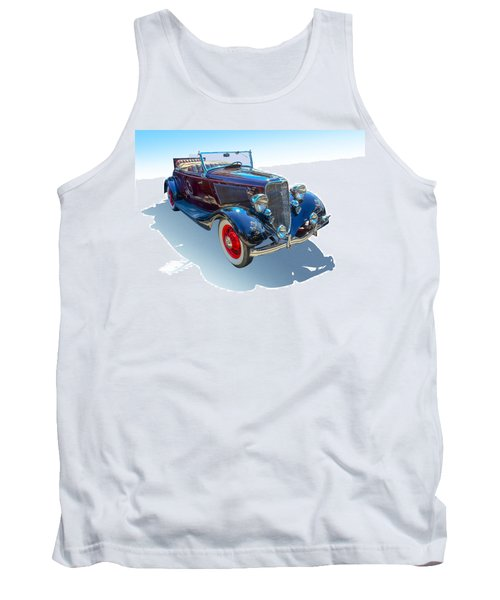 Tank Top featuring the photograph Vintage Convertible by Gianfranco Weiss