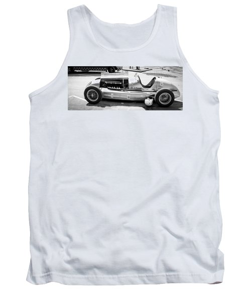 Tank Top featuring the photograph Vintage Racing Car by Gianfranco Weiss