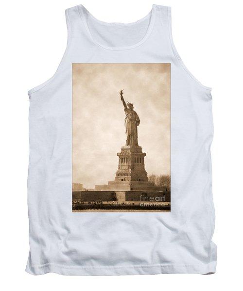 Vintage Statue Of Liberty Tank Top