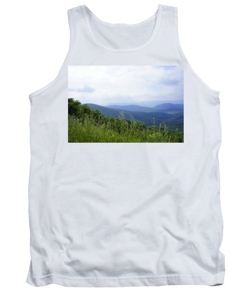 Tank Top featuring the photograph Virginia Mountains by Laurie Perry
