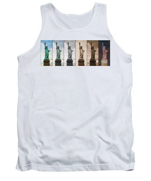 Visions Of Liberty Tank Top