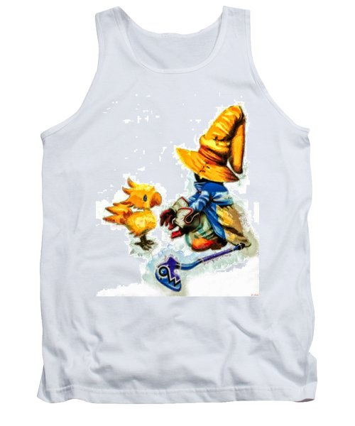 Vivi And The Chocobo Tank Top by Joe Misrasi