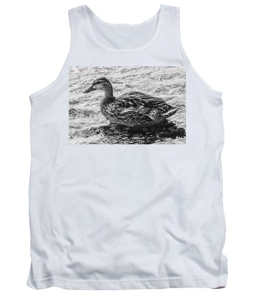 Wading Female Mallard Tank Top