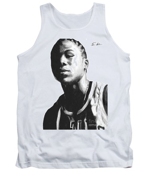 Tank Top featuring the drawing Wagner by Tamir Barkan