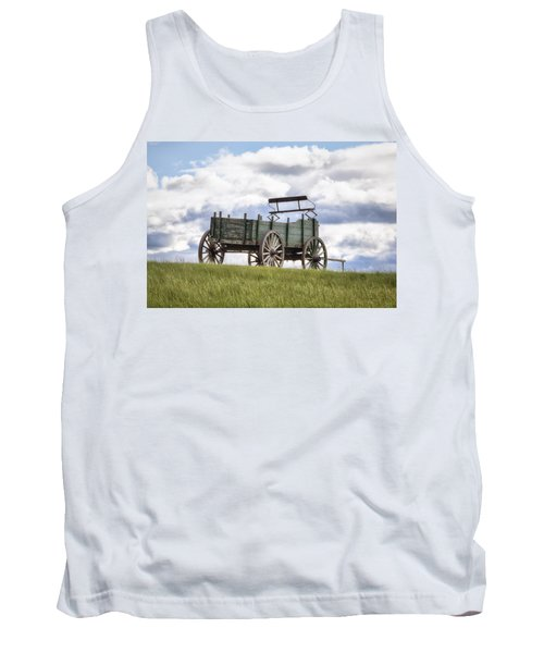 Wagon On A Hill Tank Top
