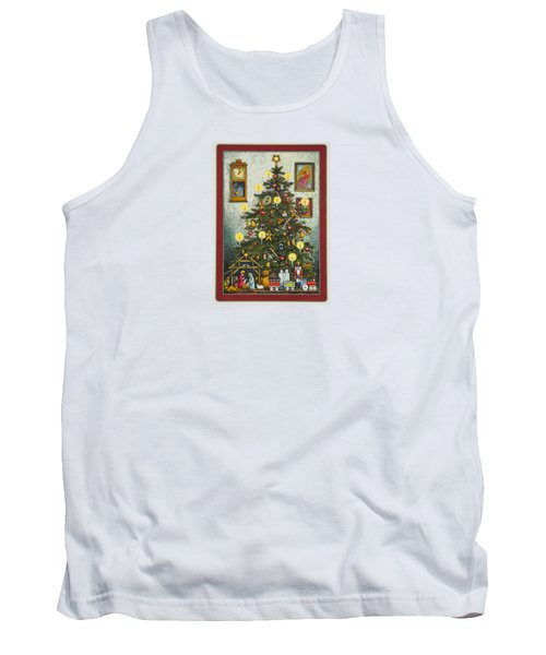 Waiting For Christmas Morning Tank Top