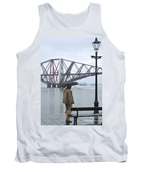 Tank Top featuring the photograph Waiting On High Street by Suzanne Oesterling