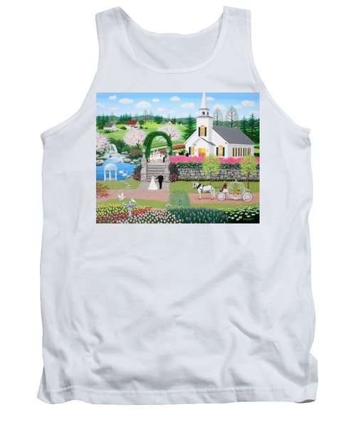 Walk With My Father Tank Top