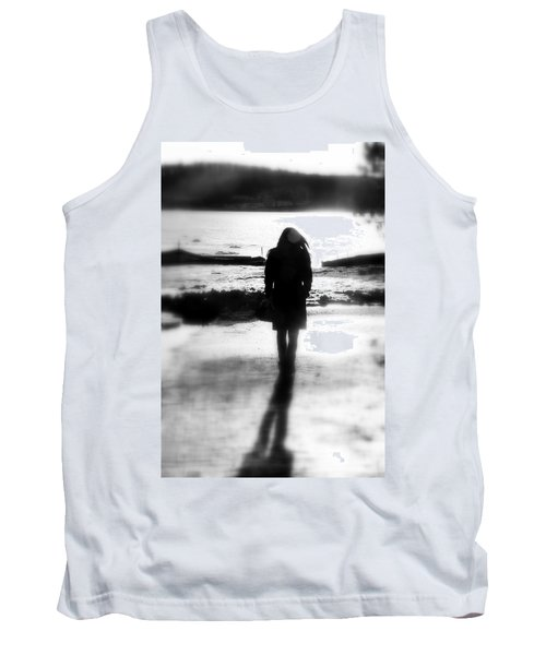 Walking Alone Tank Top by Valentino Visentini