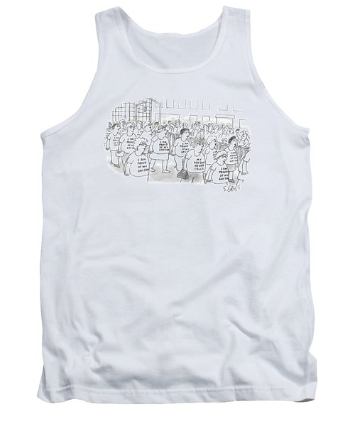 Walking In A Parade Tank Top