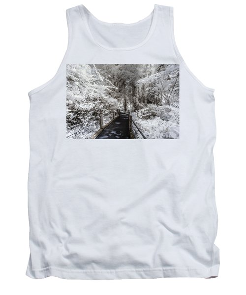 Walking Into The Infrared Jungle 1 Tank Top