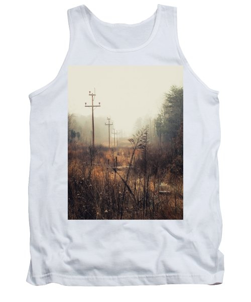Walking The Lines Tank Top by Jessica Brawley