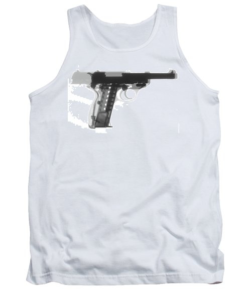 Walther P38 X-ray Photograph Tank Top