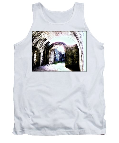 War At Fort Pickens Tank Top
