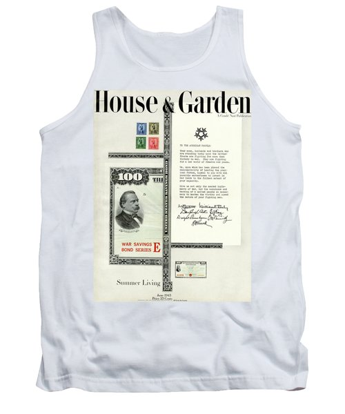 War Bonds, Stamps And A Letter Tank Top