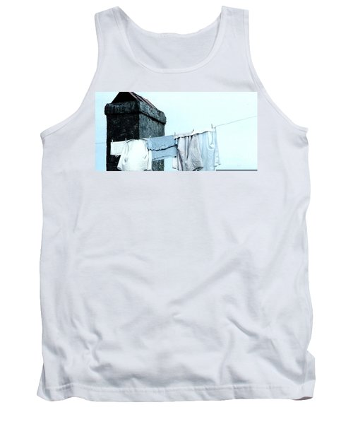 Tank Top featuring the photograph Wash Day Blues In New Orleans Louisiana by Michael Hoard