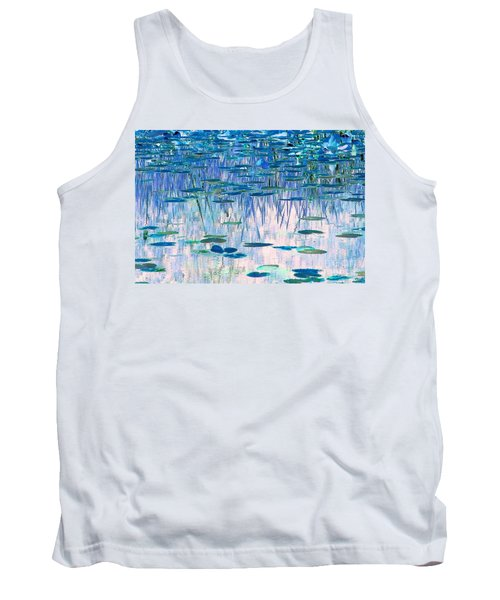 Water Lilies Tank Top by Chris Anderson