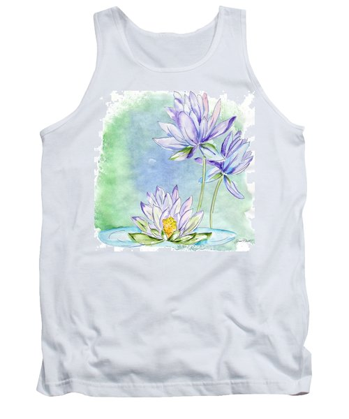 Water Lilly Tank Top