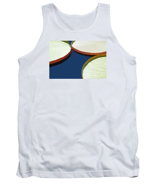 Water Lilly Platters Tank Top