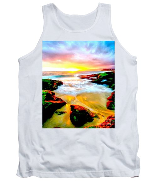 Water Runs To It Tank Top