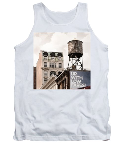 Water Towers 14 - New York City Tank Top