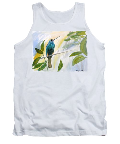Watercolor - Jacamar In The Rainforest Tank Top