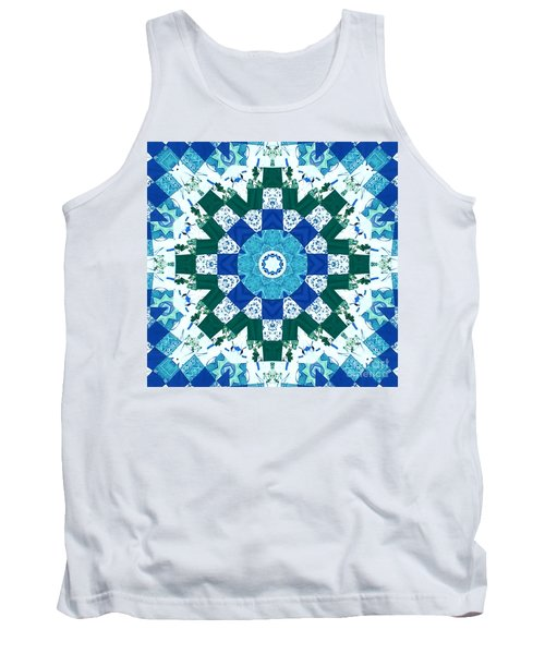 Watercolor Quilt Tank Top