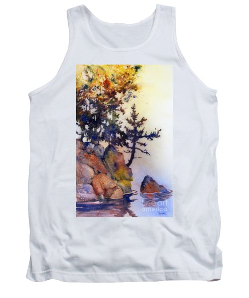 Water's Edge Tank Top by Teresa Ascone