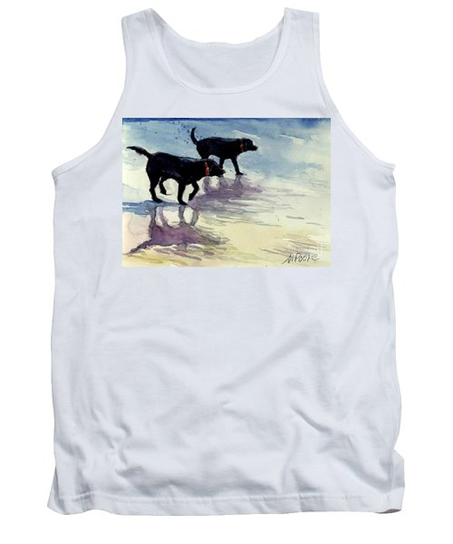 Waverunners Tank Top by Molly Poole