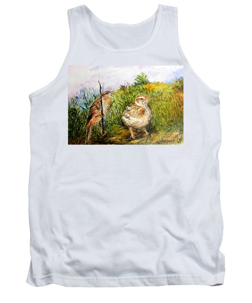 We Are Lost  Tank Top