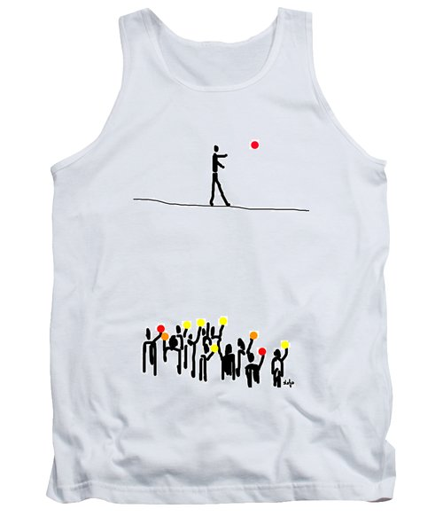 We Believe In Circles  Tank Top by Sladjana Lazarevic