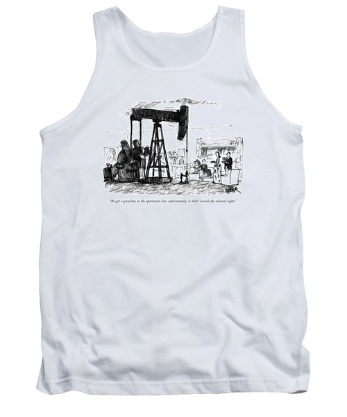 We Got A Great Buy On The Apartment Tank Top