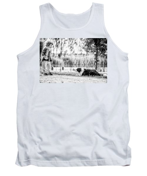 We Live As We Dream Tank Top by Traven Milovich